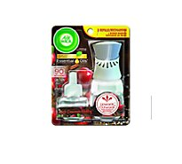 Airwick Scented Oil Starter Kit Apple Cinnamon Medley - Each