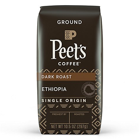 Peets Single Origin Ethiopia Coffee - 10.5 Oz