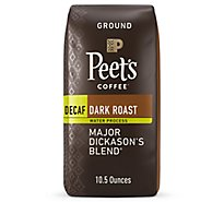 Peets Decaf Major Dickasons Coffee - 10.5 Oz