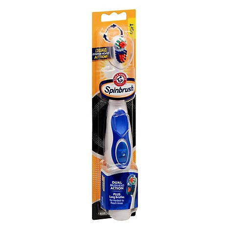 ARM & HAMMER Spinbrush Toothbrush Pro+ Deep Clean Soft - Each