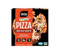 Alpha Foods Pizza Plant Based Buffalo Chikn - 6 Oz