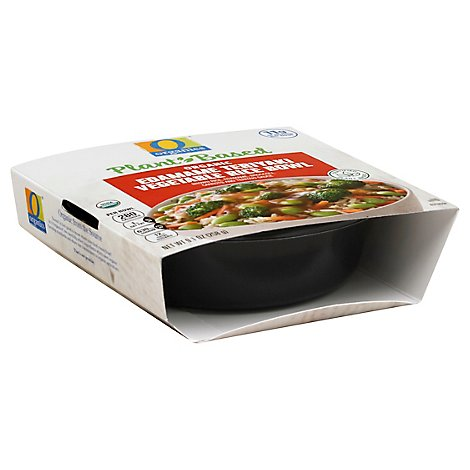 O Organics Plant Based Bowl Edamame Rice Vegetable - 9.1 Oz