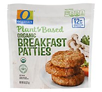 O Organics Plant Based Breakfast Patties - 8 Oz