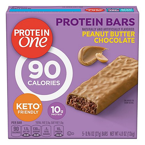 Protein One Protein Bars Salted Caramel Crisp - 5-0.99 Oz