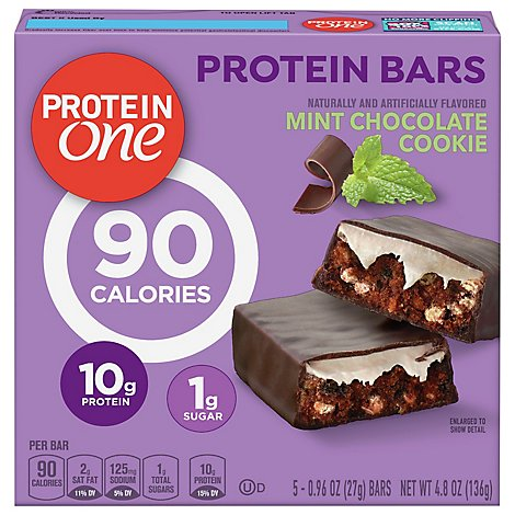 Protein One Protein Bars Mint Chocolate Cookie - 5-0.96 Oz