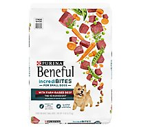 Beneful Dog Food Dry Incredibites Beef - 14 Lb