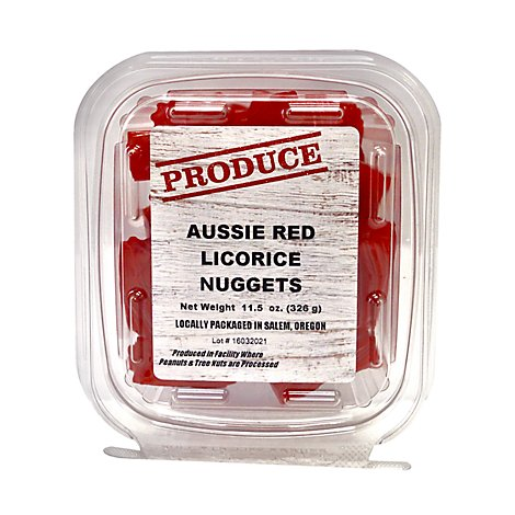 Rivertrail Foods Produce Licorice Nuggets Red Aussie - 11.5 Oz
