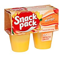 Snack Pack Pudding Tropical Mango - 4-3.25 Oz