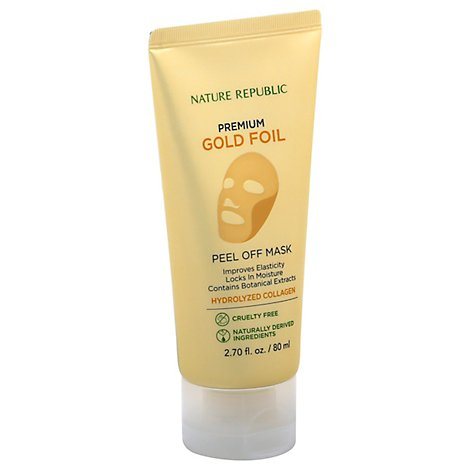 Nature Republic Premium Gold Peel Off Mask - 2.7 Fl. Oz.