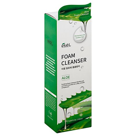 Ekel Aloe Foam Cleanser - 6.09 Fl. Oz.
