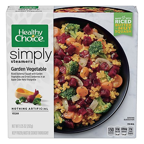Healthy Choice Simply Steamers Garden Vegetables - 9.25 Oz