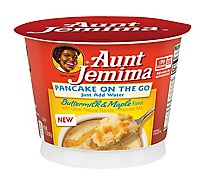 Aunt Jemima Buttermilk Maple Pancake Cup - 2.11 Oz