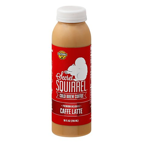 Secret Squirrel Coffee Cld Brw Cafe Ltte - 10 Fl. Oz.