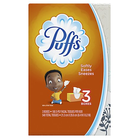Puffs Basic Secret Life Of Pets Family - 540 Count