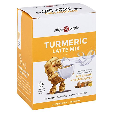 Ginger People Ginger Latte Mix Turmric - 5.3 Oz