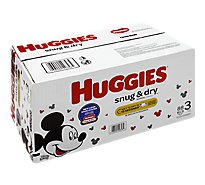 Huggies Snug & Dry Diapers Plus Wetness Indicator Size 3 - 88 Count
