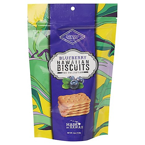Diamond Bakery Hawaiian Biscuits Blueberry - 4 Oz