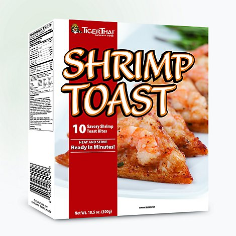 Tiger Thai Shrimp Toast - 10.5 Oz
