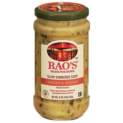 Raos Soup Rte Chicken Gnocchi - 16 Oz
