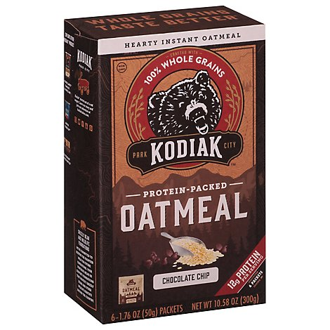Chocolate Chip Oatmeal Packet - 10.58 Oz