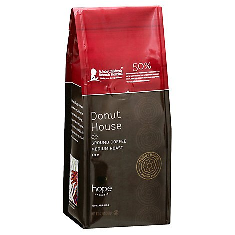 Hope Prod Coffee Donut House Grnd - 12 Oz