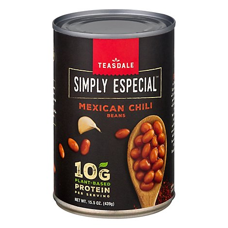 Teasdale Simply Especial Beans Mexican Chili - 15.5 Oz