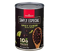Teasdale Simply Especial Black Beans Spicy Cuban - 15.5 Oz