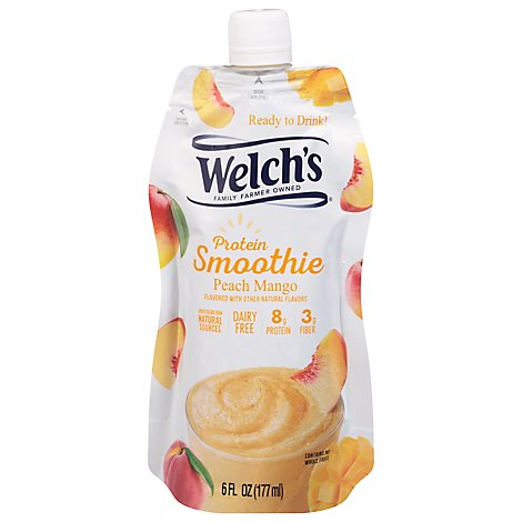 Welchs Smoothie Peach Mango Drink In A Pouch - 6 Fl. Oz.