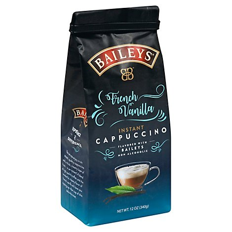 Baileys Coffee Instant Cappuccino French Vanilla - 12 Oz
