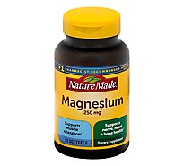 Nature Made Magnesium Soft Gels 250 mg - 90 Count