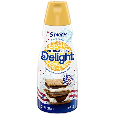 International Delight Coffee Creamer Smores - 32 Fl. Oz.
