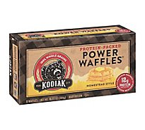 Kodiak Cakes Power Waffles Homestyle 8 Count - 10.72 Oz