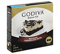 Godiva Baking Mix Brownie Cheesecake Swirl - 7.7 Oz