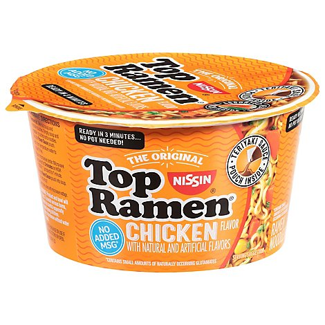 Nissin Top Ramen Bowl Chicken - 3.421 Oz
