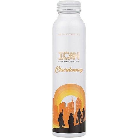 Ican Chardonnay Washington Wine - 375 Ml