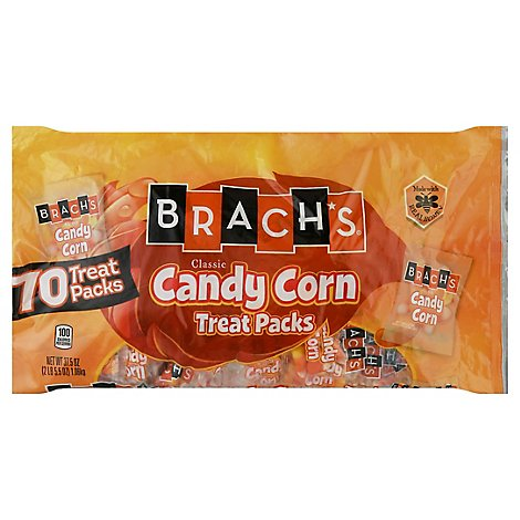 Brachs Candy Corn Treat Packs 70 Count - 37.5 Oz