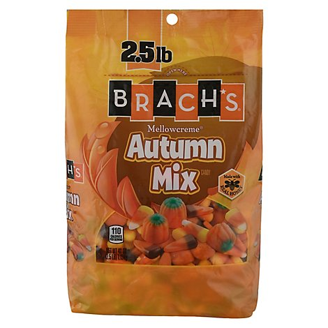 Brachs Candy Mellowcreme Autumn Mix - 40 Oz