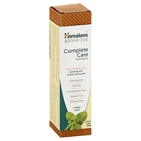 Himalaya Toothpaste Complete Care Simply Mint - 5.29 Oz