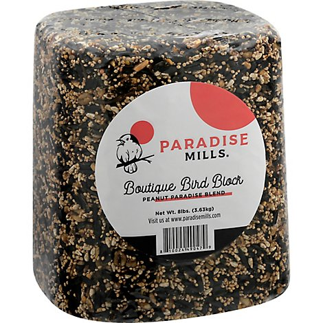 Paradise Mills Bird Block Boutique Peanut Paradise Blend - 8 Lb