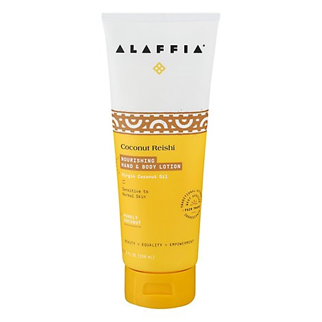 Alaffia Coconut Lotion - 8 Fl. Oz.