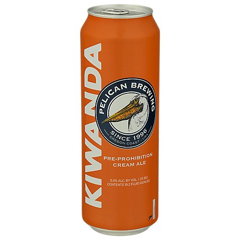 Pelican Kiwanda Cream In Cans - 19.2 Fl. Oz.