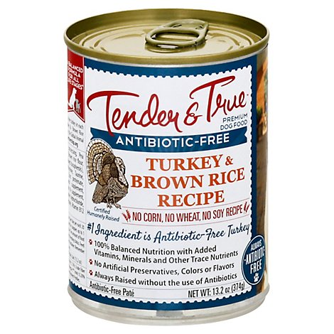 Tender An Dog Fd Wet Trky Brwn Rice - 13.2 Oz