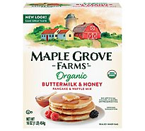 Maple Grove Farms of Vermont Organic Pancake & Waffle Mix - 16 Oz