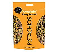 Wonderful Pistachios No Shells Honey Roasted Pistachios - 5.5 Oz.