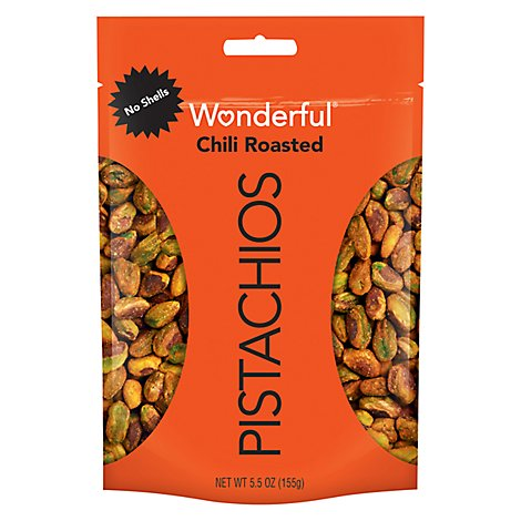 Wonderful Pistachios No Shells Chili Roasted Pistachios - 5.5 Oz.