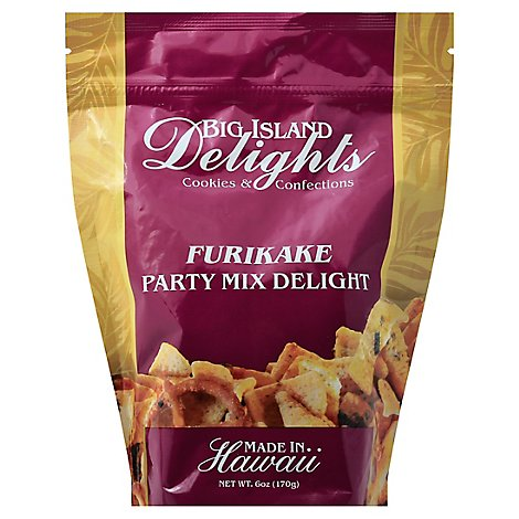 Big Island Delights Party Mix Delight Furikake - 6 Oz