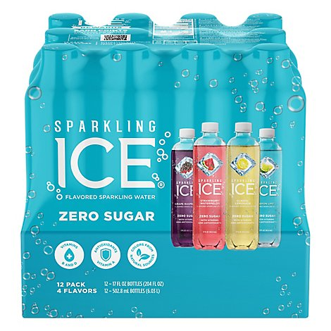 Sparkling Ice Blue Variety Pack - 12-17 Fl. Oz.