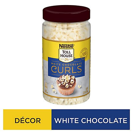 Toll House Curls White Chocolate - 3.75 Oz