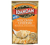 Idahoan Mashed Potatoes Wisconsin Cheddar - 4 Oz