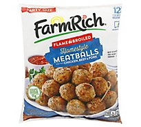Farm Rich Three Meat Homestyle Meatballs - 64 Oz